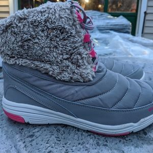 Women's Ryka Insulated Lace Up Snow Boots Size 7.5